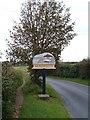TG3135 : Mundesley village sign by Martin Pearman