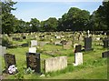 SE1823 : Liversedge Cemetery, Clough Lane, Liversedge by Humphrey Bolton