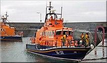 J5980 : Two lifeboats at Donaghadee by Albert Bridge