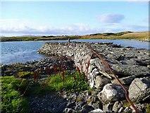 NR6880 : Derelict jetty at Keills by Gordon Brown