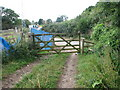 ST5594 : Ramshackle stile at Snipehill Bridge by Roy Parkhouse