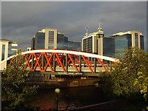 SJ8196 : Trafford Road Bridge by John Harvey