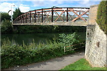 ST7364 : Fielding's Road Bridge, over the River Avon by Philip Halling