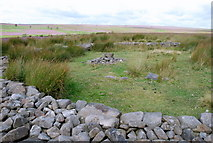 SK2775 : The second stone circle on Big Moor by Roger Temple