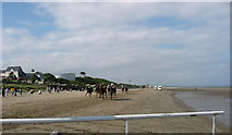 O1672 : Laytown Strand Races by Kieran Campbell
