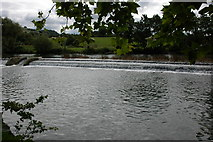 ST6967 : The weir at Saltford Lock by Philip Halling