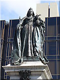 SU6400 : Queen Victoria Statue, Portsmouth by Colin Smith