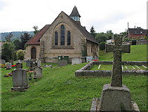 SO7023 : Churchyard of St. Peter's, Clifford's Mesne by Pauline E
