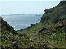 NM3640 : The rough track along the south coast of the Isle of Gometra by Op Deo