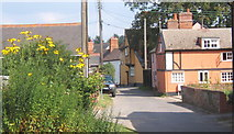 TM0848 : Village side street, Somersham by Andrew Hill