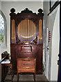 NY1717 : The Parish Church of St James, Buttermere, Organ by Alexander P Kapp