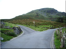 NY1717 : Road junction at Buttermere by Alexander P Kapp