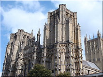ST5545 : Wells Cathedral by Andrew Davis