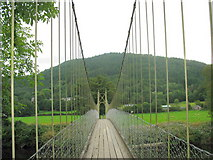 SH7956 : On the Sapper's Suspension Bridge by Eric Jones