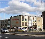 SE1437 : Ellis Briggs cycle shop, Otley Road, Shipley by Humphrey Bolton