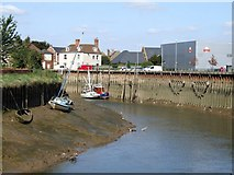 TF3243 : The River Witham, Boston by Dave Hitchborne