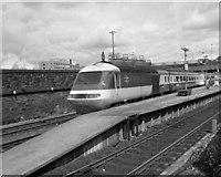 SE1632 : Bradford Exchange station, 1979 by Dr Neil Clifton