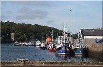NB4232 : Stornoway Harbour by Bob Embleton