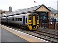 SN5881 : Waiting for service at Aberystwyth by John Lucas
