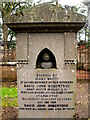NO0840 : Diver's gravestone. Caputh graveyard. by Martyn Gorman