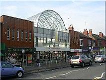 SE3634 : Cross Gates Shopping Centre - Austhorpe Road by Betty Longbottom