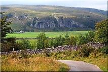 SD9768 : Kilnsey Crag. by Steve Partridge