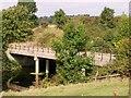TL7196 : Thornham Road bridge over Cut-off Channel by Lisa Wild
