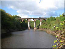 SD7217 : Bradshaw Brook Viaduct by Paul Anderson