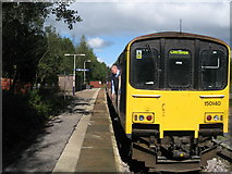 SD7217 : Entwistle Station Platform by Paul Anderson