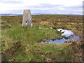 NY5686 : The trig point on Glendhu Hill by Walter Baxter