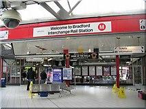 SE1632 : Bradford Interchange - Rail Station Concourse by Betty Longbottom