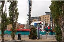 J3474 : New building, Belfast by Albert Bridge