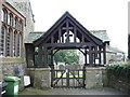 NY0725 : St Oswald's Church, Dean, Lychgate by Alexander P Kapp