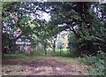 SJ6767 : Bostock Hall, South Lodge by Philip Ingram