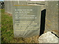 NB3149 : Information Stone by Dave Fergusson