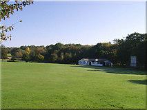 TQ5794 : Brookweald Cricket Club, South Weald by John Winfield
