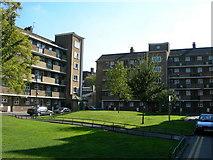 TQ3179 : China Walk Estate, Lambeth Road by Danny P Robinson
