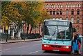 J3374 : Bus, Donegall Square East, Belfast by Albert Bridge