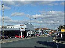SE8912 : Normanby Road Junction by David Wright