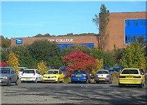 NS3421 : Colourful Car Park by Mary and Angus Hogg