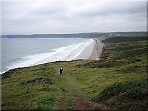 SM8519 : Gentle descent to Newgale Sands by Zorba the Geek