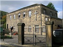 SE1039 : Bingley United Reformed Church - Dryden Street by Betty Longbottom