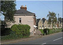SO6301 : Railway Terrace and Cookson Terrace, Lydney by Pauline E