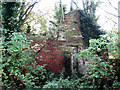 TG4324 : Ruined house by Evelyn Simak