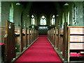 NY2231 : St John's Church, Bassenthwaite, Interior by Alexander P Kapp