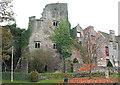 SO2242 : Hay Castle, Hay-on-Wye by Pauline E