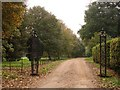 TL6297 : Entrance to Wood Hall by Lisa Wild