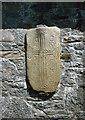 N0030 : Grave slab, Clonmacnoise by Alan Murray-Rust