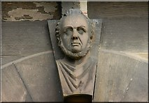 J3372 : The Union Theological College, Belfast (detail) (2) by Albert Bridge