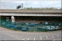 J3474 : Site of former Queen's Quay station, Belfast by Albert Bridge